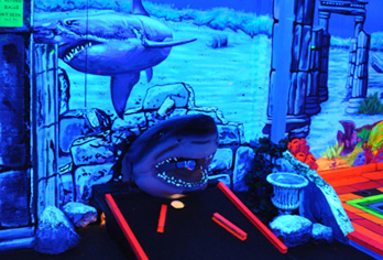 King Neptunes Is Hampton Roads Premier Indoor Blacklight 3 D Mini Golf It A Great Place For Family Fun Birthday Parties And Youth Groups